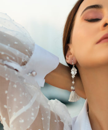Ioana Enache sterling silver cufflinks